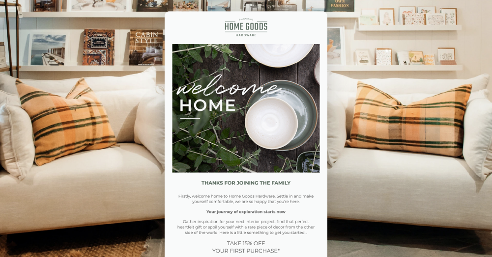 Home Goods Hardware's Automated Campaigns
