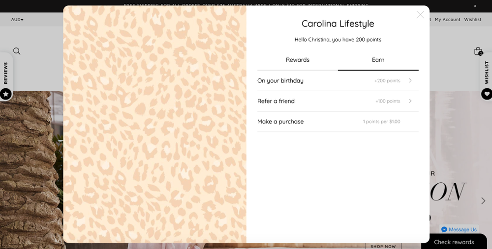 Carolina Lifestyle has created a generous loyalty program, using Marsello – and they're reaping the rewards.