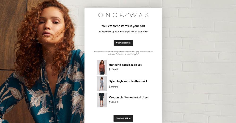OnceWas' Automated Marketing