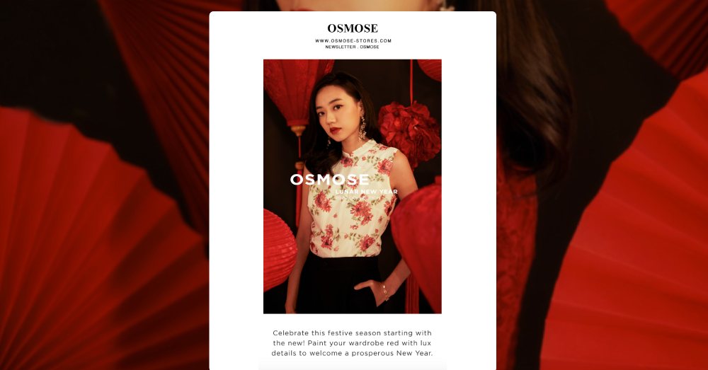 OSMOSE's Holiday Campaigns