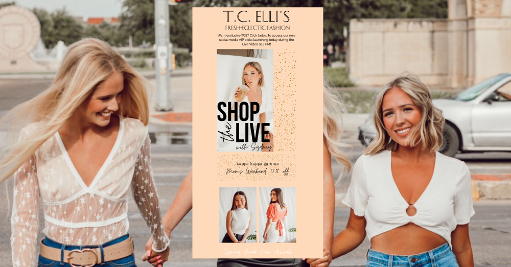 T.C. Elli's Email Campaigns