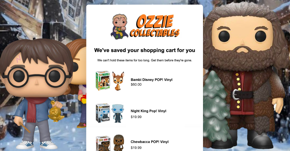 Ozzie Collectables' Automated Campaigns