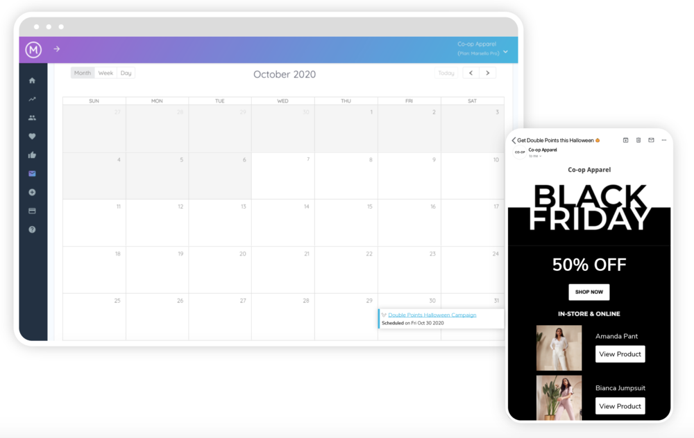 NEW FEATURE: Marketing Calendar
